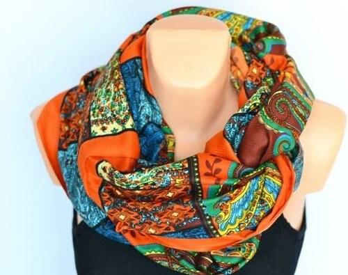 Krásný šátek tunel v různých barvách color UNI - Glami.cz 0e4096e2cf