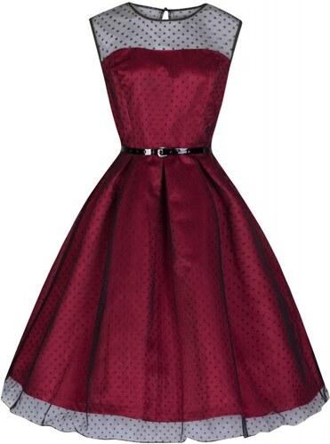 LindyBop retro společenské šaty Aleena ff38b680d43