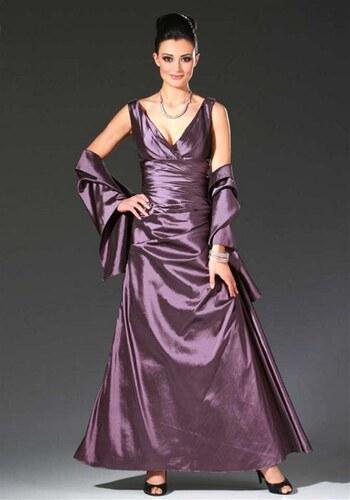 133be2cbfc1 Laura Scott Nádherné společenské šaty v šanžánovém měňavém vzhledu ...