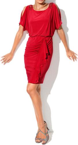 ba0e888e4e0 HEINE HEINE společenské šaty červené - Glami.cz