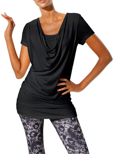 24542769fe7 CLASS INTERNATIONAL CLASS INTERNATIONAL zužující dámské černé tričko ...