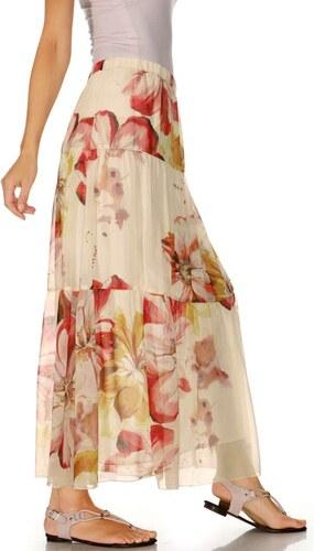 387f4534a19 RICK CARDONA RICK CARDONA návrhářská maxi dlouhá sukně