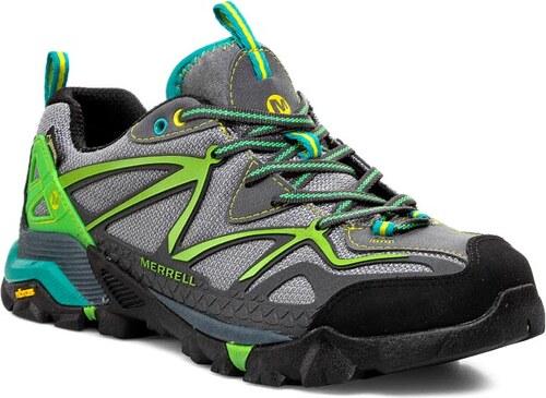 Trekkingová obuv MERRELL - Capra Sport Gore-Tex J64998 Grey Wild Dove dcdb4d6558