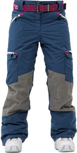 4ac0896133b Zimní kalhoty dámské Rehall RENEE Legion blue - Glami.cz