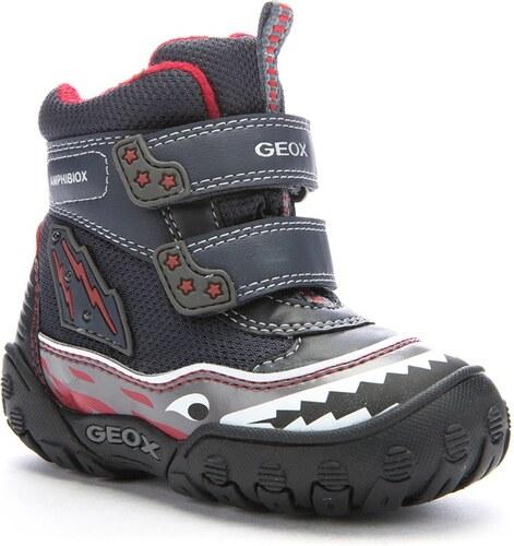 Geox Chlapecké zimní svítící boty - tmavě modré - Glami.cz 175bd67031