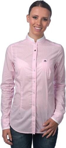 Timeout dámská košile růžová - Glami.cz 7cfda39cc6