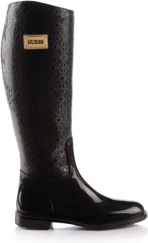 Guess Sissyla - Bottes de pluie - noir - Glami.fr 98c3300d011