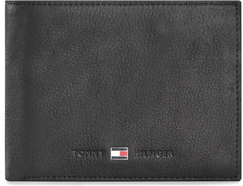 4b7cb3398b Nagy férfi pénztárca TOMMY HILFIGER - Johnson Cc Flap And Coin Pocket  AM0AM00660/82566 Black 002
