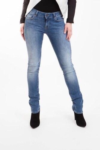 Jeans dámské vyšší sed