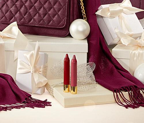 2 lippenstifte. Black Bedroom Furniture Sets. Home Design Ideas