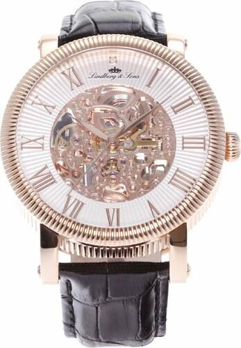 Lindberg Sons Pánske automatické hodinky SK14H019 - Glami.sk 50e1c09182b