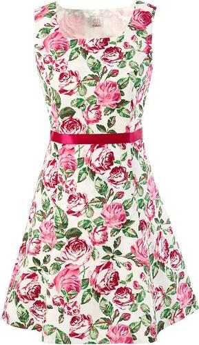 Trachtenkleid mit Rosendruck