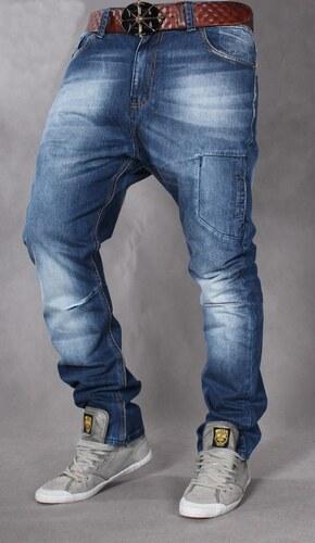 SUPERLAPP kalhoty pánské 16A baggy jeans džíny - Glami.cz 974b9bdaaa