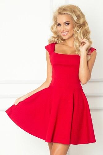 S-a-F SHIM.cz Luxusní dámské společenské a plesové šaty červené - M ... 428ac8c4b1