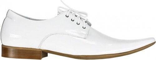 COMODO E SANO Pánská bílá společenská obuv   460w EUR 43 - Glami.cz 51d291393b