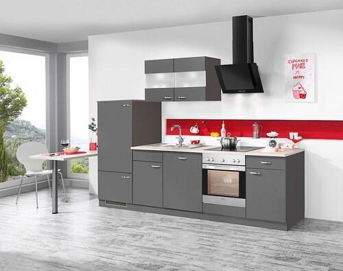 Küchenzeile mit E-Geräten »Dakota«, Breite 280 cm