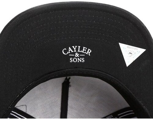 0720bad82ca Cayler amp  Sons Kšiltovky kšiltovka - Blunted 2-Tone black kush black ( BLACK KUSH BLACK) Cayler amp  Sons