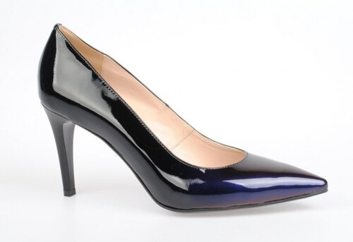dec19d0fa821 Massimo-POLI. milano Dámské černo modré plesové lodičky   4846g EUR ...