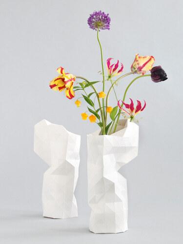 Pepe Heykoop - Paper Váza bílá