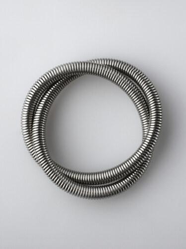 Šípková Klára - Prsten 01 STRUCTURES ocel