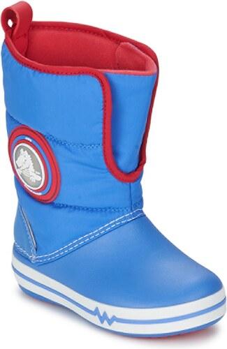 Crocs Zimní boty Dětské CROCSLIGHTS GUST BOOT PS Crocs - Glami.cz 262171af9f