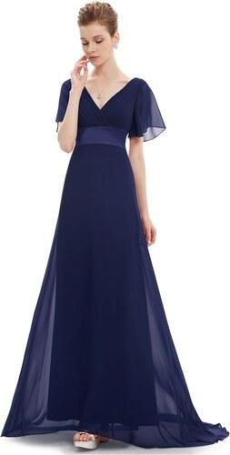 Ever Pretty plesové šaty modré 9890 XS - Glami.cz cf30914a5e