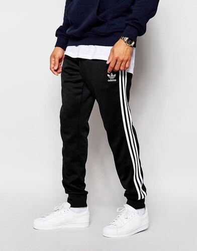 Adidas Originals - Superstar AJ6960 - Pantalon de jogging resserré aux chevilles - Noir