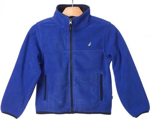 Nautica chlapecká mikina na zip 134 modrá - Glami.cz bdf87c6c67