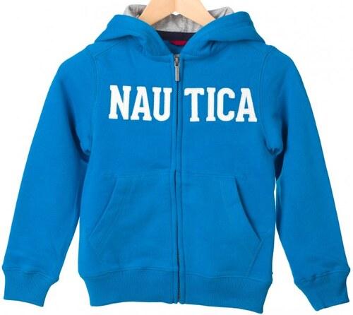 d483ca4d62f Nautica chlapecká mikina s kapucí 146 modrá - Glami.cz