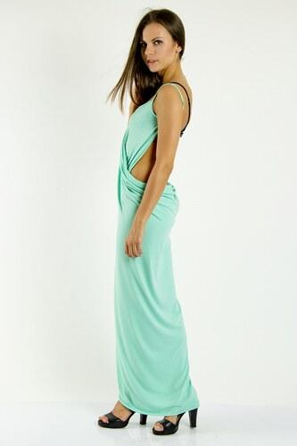 66c6e4762f7b Plážové šaty pareo dlouhé barva mátová S M - Glami.cz