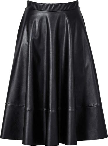 rainbow jupe synth tique imitation cuir noir femme bonprix. Black Bedroom Furniture Sets. Home Design Ideas