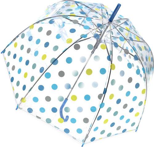 Tom Kék átlátszó esernyő Dots - Glami.hu 9002ee98f6