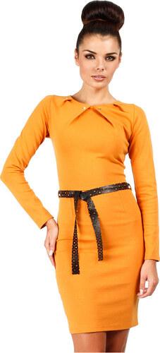 Sárga ruha MOE 043 - Glami.hu fdd412a7cf