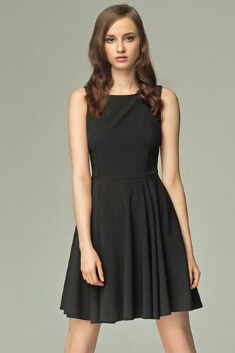 Černé šaty Misebla SU009 - Glami.cz bdba522f54