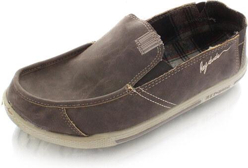 Dude Shoes Férfi mokaszin Gus winter barna - Glami.hu 6c98c95778