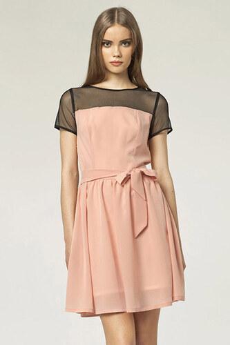 2e5439bf5b1e Nife Ružové šaty S44 - Glami.sk