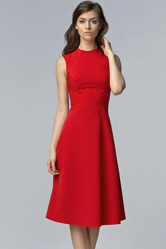 Nife Červené šaty S62 - Glami.sk 11f4af98fdf