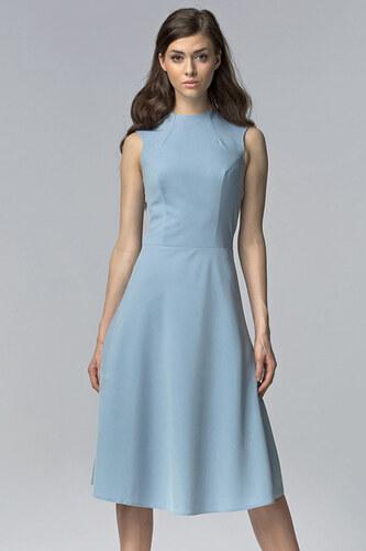 a8696270a6c0 Nife Světle modré šaty S62 - Glami.cz