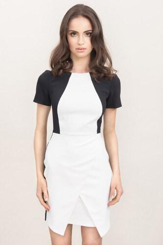 Bílo-černé šaty Misebla MSU0029 - Glami.cz d9a2b1c749