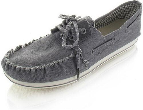 Dude Shoes Férfi mokaszin szürke Riva - Glami.hu 60d9a82370