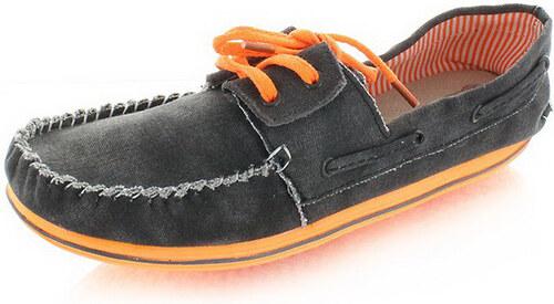 Dude Shoes Fekete férfi mokaszin Riva Fluo - Glami.hu 775e1d0c1d
