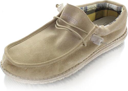 Dude Shoes Férfi mokaszin Wally bézs - Glami.hu 5672f89747