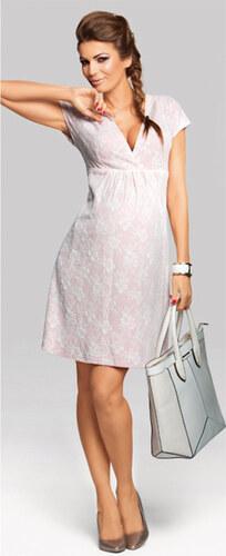Happymum Růžové těhotenské šaty Dusty Rose - Glami.cz 9cb5f0f548