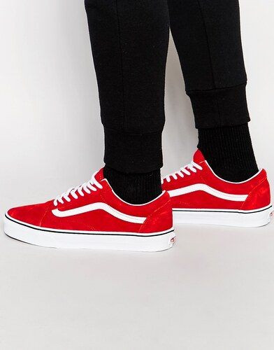 Vans Old Skool Rouge Et Blanc