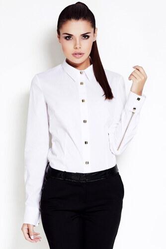 Awama Bílá košile A52 - Glami.cz 9324e3a201
