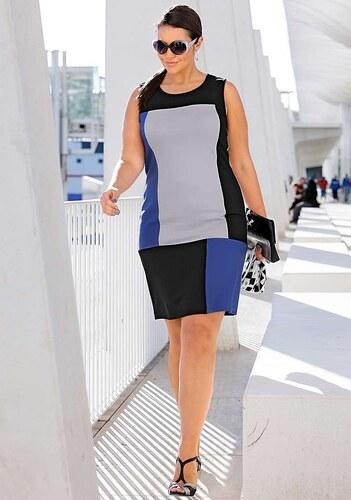 Pouzdrové šaty také pro plnoštíhlé 22bf80baf8