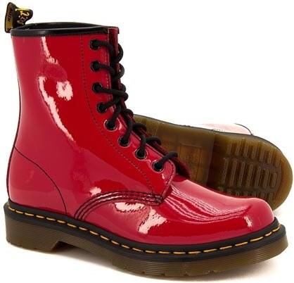 Dr. Martens Dámské kožené kotníkové boty (8 dírek) DM11821606 - Glami.cz fc9a342180