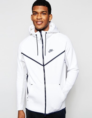 nike air force solde - Nike - TF 727340-100 - Sweat �� capuche - Blanc - Glami.fr