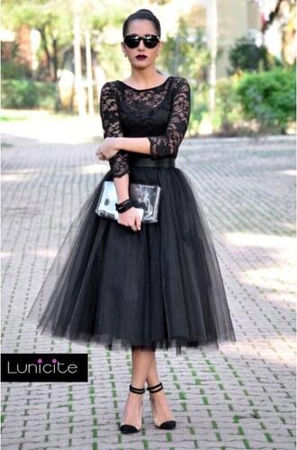 Luxusní tylová sukně Lunicite Bezinka Černá XL - Glami.cz f9e61ef9f7
