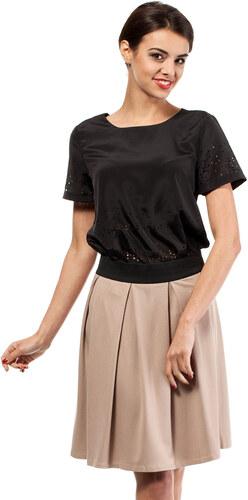 ce94783ffa9e Béžová sukňa MOE 012 - Glami.sk